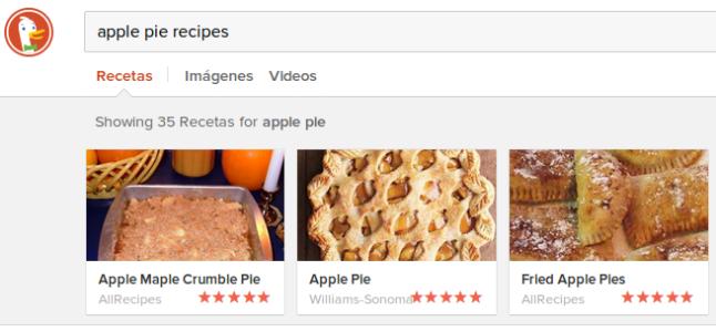 Buscar recetas