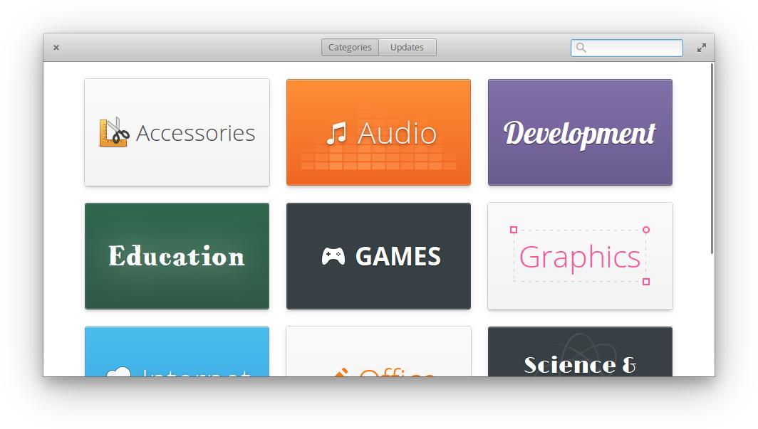 Centro de software de Elementary OS